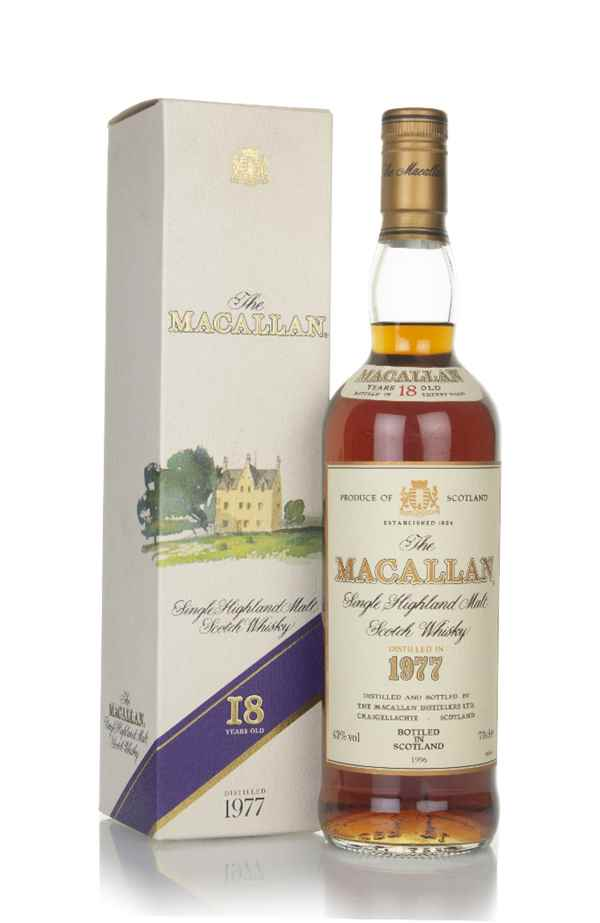 The Macallan 18 Year Old 1977