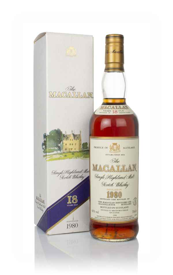 The Macallan 18 Year Old 1980