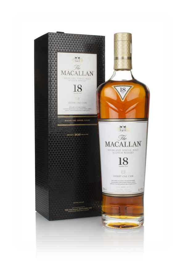 The Macallan 18 Year Old Sherry Oak (2020 Release)