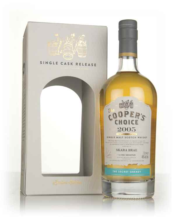 Skara Brae 12 Year Old 2005 (cask 20) - The Cooper's Choice (The Vintage Malt Whisky Co.