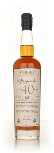 The Whisky Club 40 Year Old Speyside
