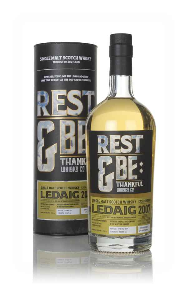 Ledaig 11 Year Old 2007 (cask 700612) - Rest & Be Thankful