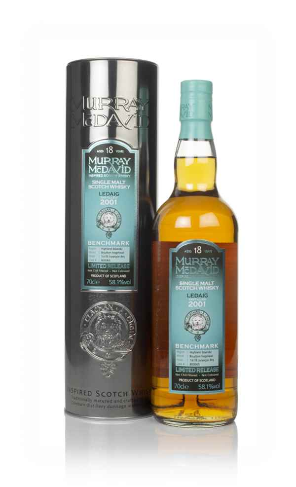 Ledaig 18 Year Old 2001 (cask 800065) - Benchmark (Murray McDavid)