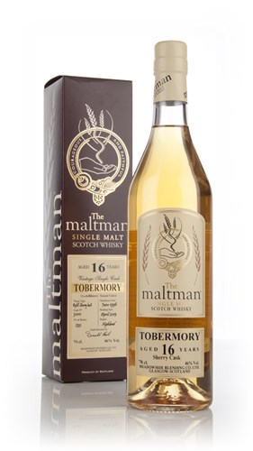 Tobermory 16 Year Old 1996 (cask 5010) (The Maltman)