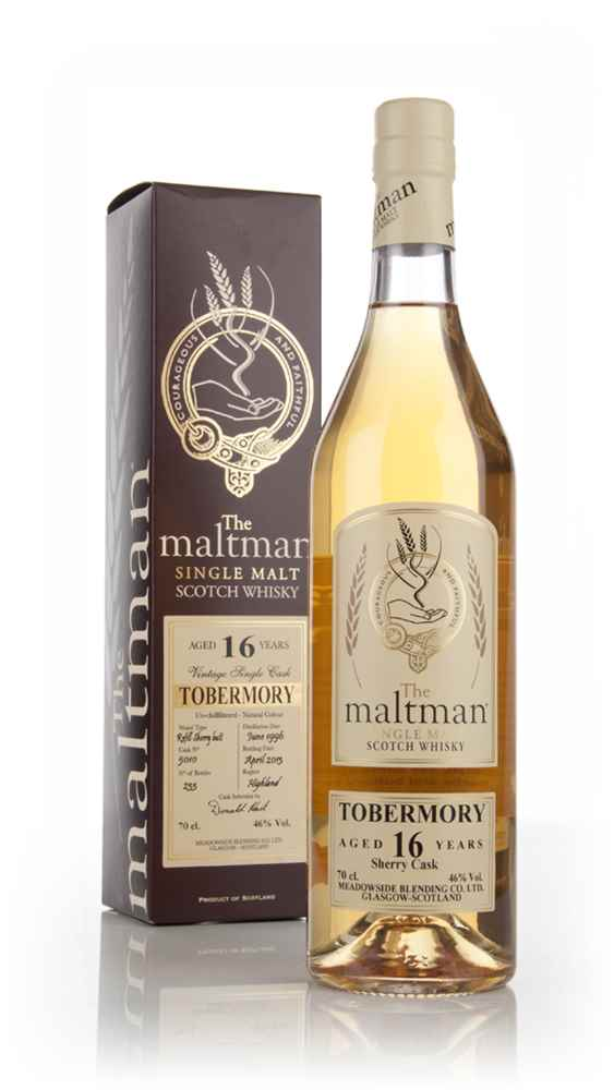Tobermory 16 Year Old 1996 (cask 5010) - The Maltman