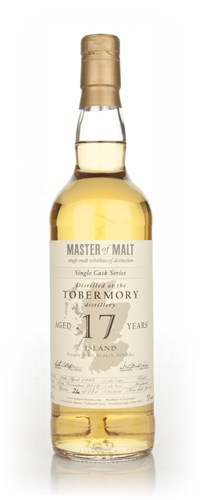 Tobermory 17 Year Old - Single Cask (Master of Malt)