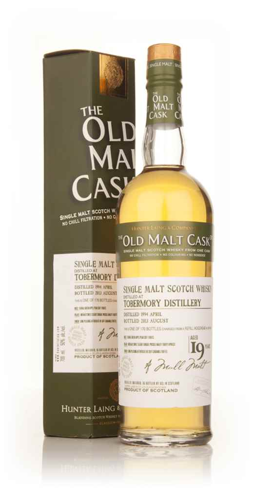 Tobermory 19 Year Old 1994 (cask 9910) - Old Malt Cask (Hunter Laing)