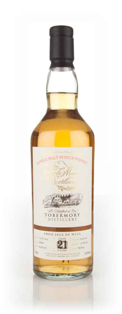Tobermory 21 Year Old 1994 (cask 660881) - Single Malts of Scotland (Speciality Drinks)