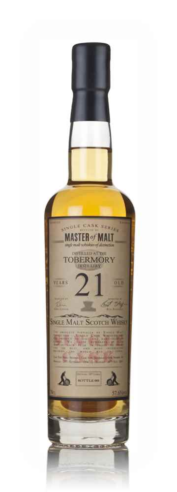 Tobermory 21 Year Old 1994 - Single Cask (Master of Malt)