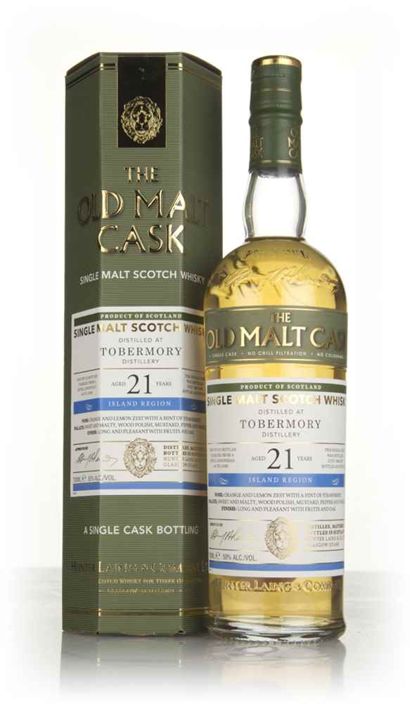 Tobermory 21 Year Old 1996 (cask 14082) - Old Malt Cask (Hunter Laing)