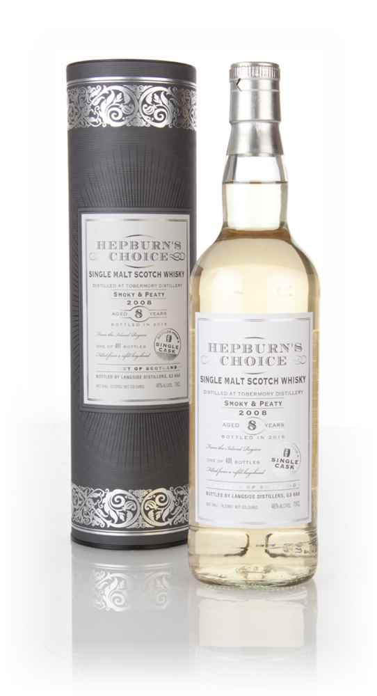 Tobermory 8 Year Old 2008 - Hepburn's Choice (Langside)