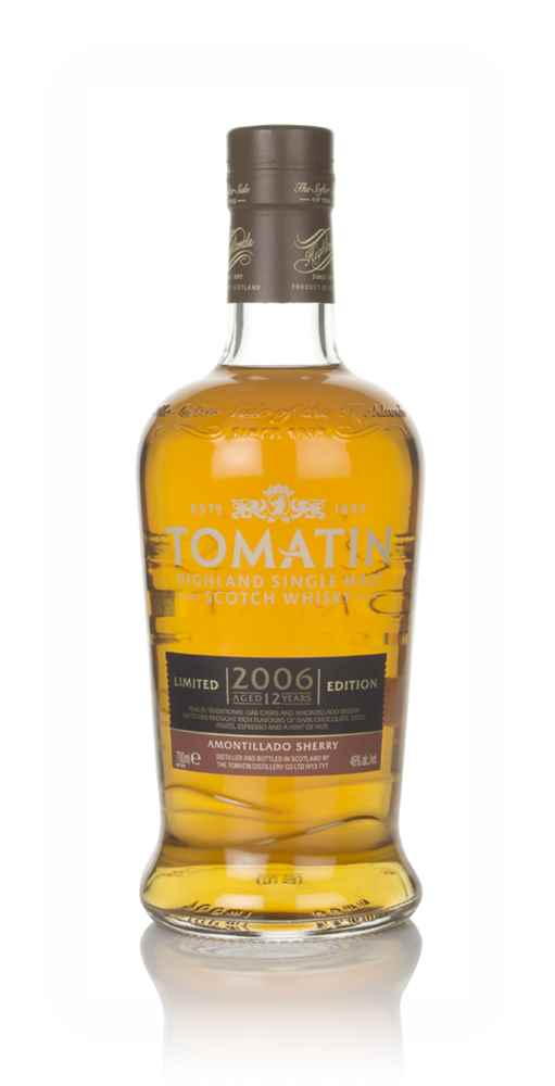Tomatin 12 Year Old 2006 Amontillado Sherry Cask Finish