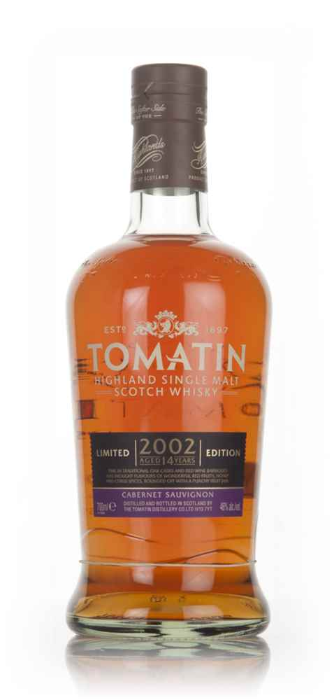 Tomatin 14 Year Old 2002 Cabernet Sauvignon Cask