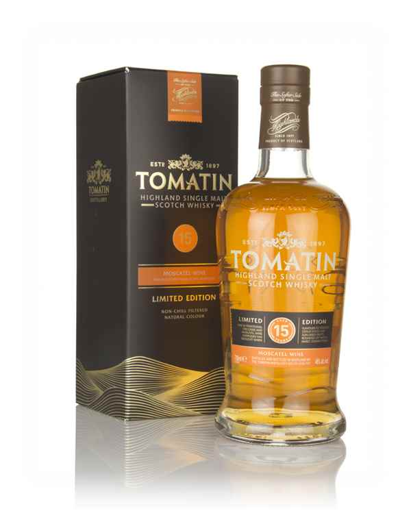 Tomatin 15 Year Old Moscatel Cask Finish