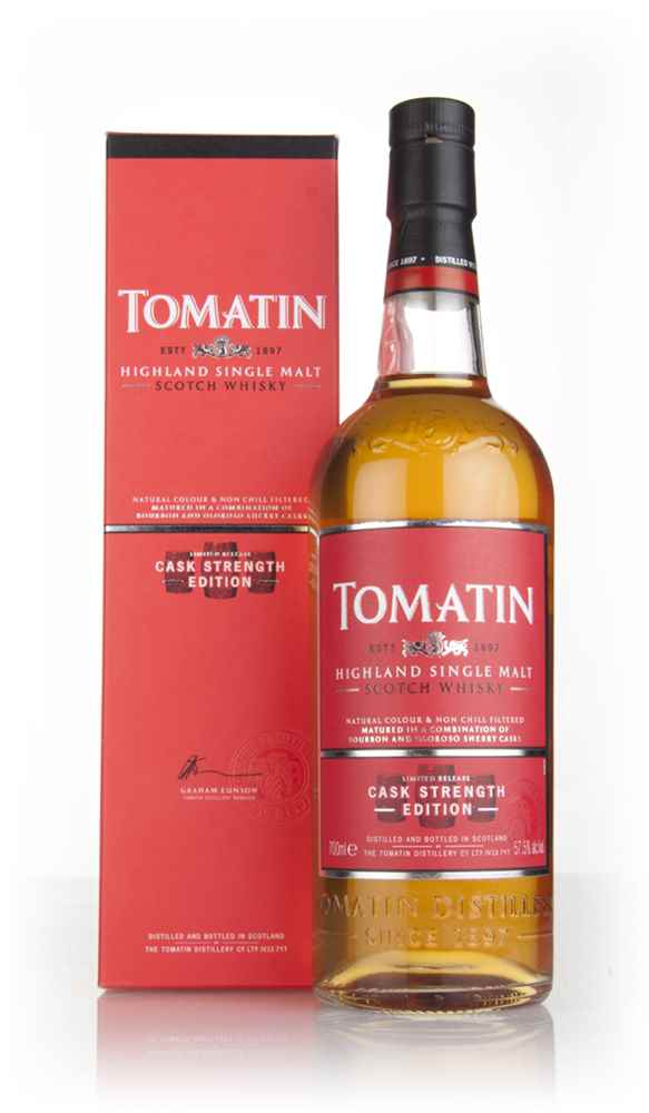 Tomatin Cask Strength Edition (Old Bottling)