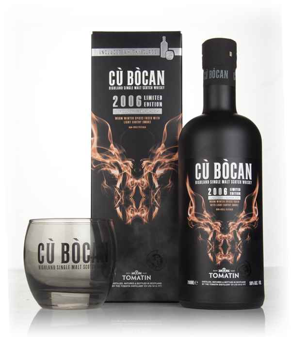 Tomatin Cù Bòcan 2006 Vintage Limited Edition with Glass