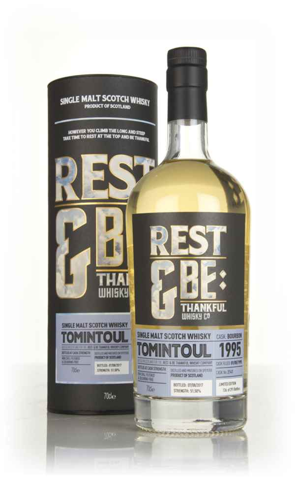 Tomintoul 22 Year Old 1995 (cask 2141) (Rest & Be Thankful)