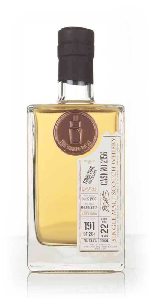 Tomintoul 22 Year Old 1995 (cask 2156) - The Single Cask