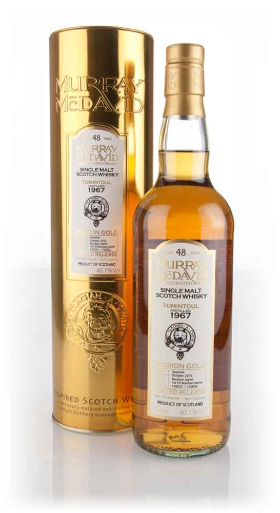 Tomintoul 48 Year Old 1967 (casks 150031 & 150032) - Mission Gold (Murray McDavid)