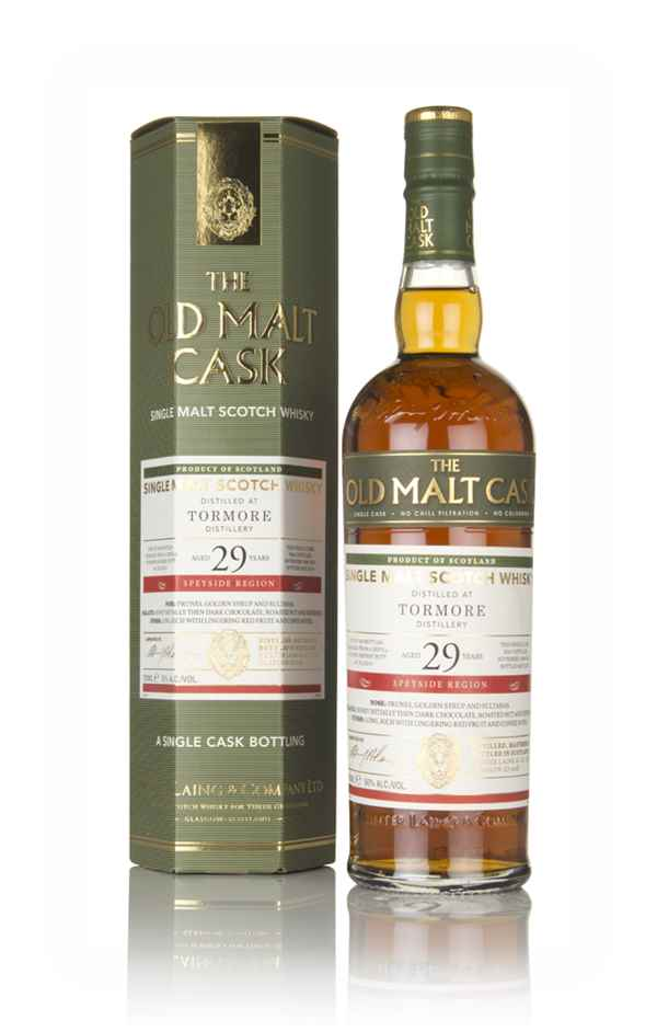 Tormore 29 Year Old 1988 (cask 15243) - The Old Malt Cask (Hunter Laing)