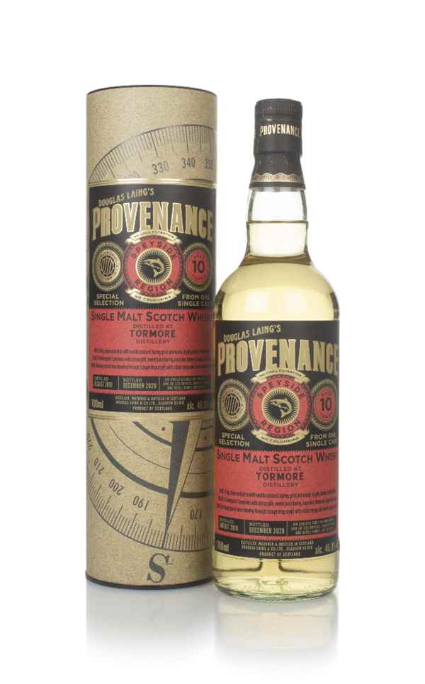 Tormore 10 Year Old 2010 (cask 14577) - Provenance (Douglas Laing)