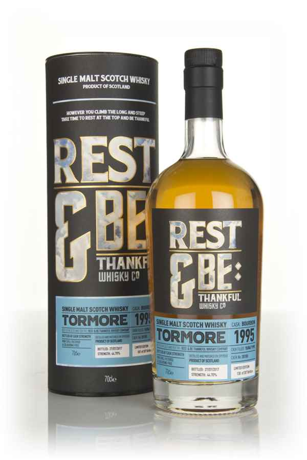 Tormore 21 Year Old 1995 (cask 20100) (Rest & Be Thankful)