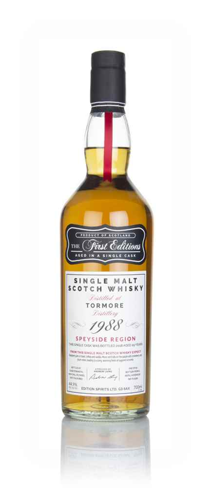 Tormore 29 Year Old 1988 (cask 15351) - The First Editions (Hunter Laing)