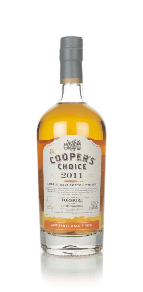 Tormore 8 Year Old 2011 (cask 9340) - The Cooper's Choice (The Vintage Malt Whisky Co.)
