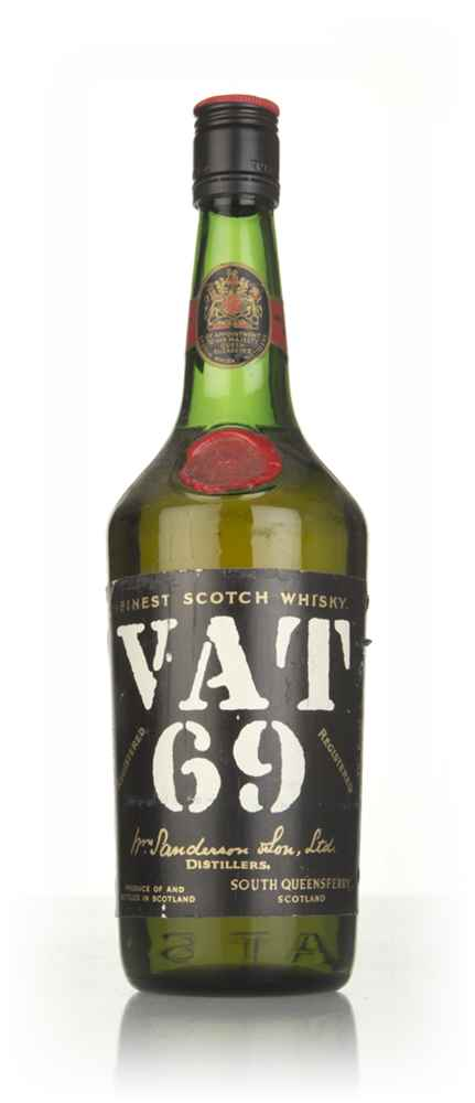 VAT 69 Blended Scotch Whisky - 1967
