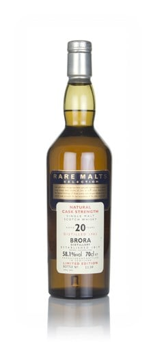 Brora 20 Year Old 1982 - Rare Malts