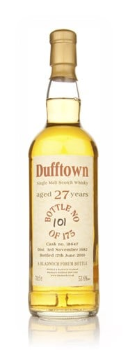 Dufftown 27 Year Old 1982 (Bladnoch)