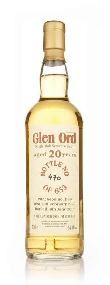 Glen Ord 20 Year Old 1990 (Bladnoch)