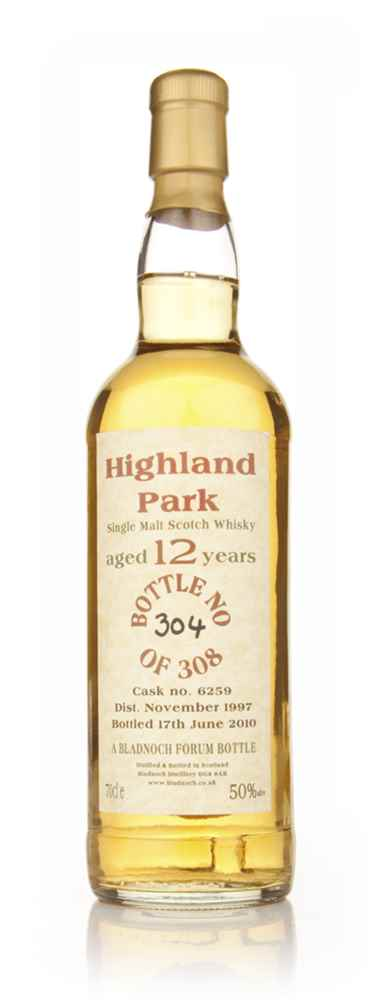 Highland Park 12 Year Old 1997 Cask 6259 (Bladnoch)