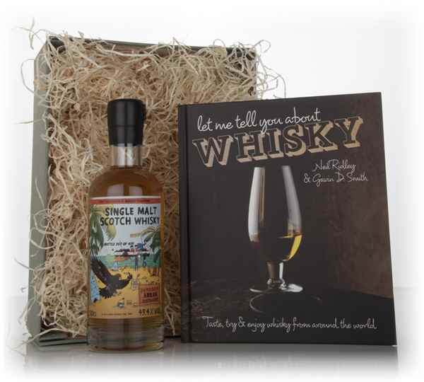 Whisky and Book Gift Set