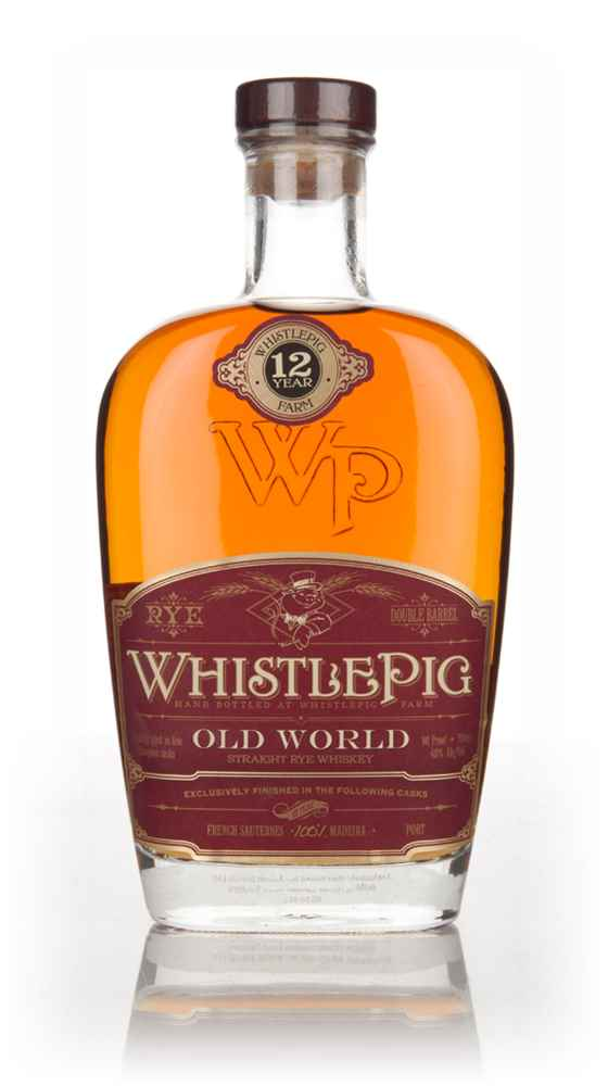 WhistlePig 12 Year Old Madeira Cask - Old World