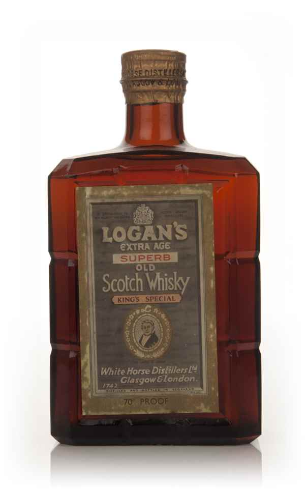 Logan's Extra Age Superb Old Blended Scotch Whisky - 1960s