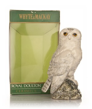 Whyte and Mackay Royal Doulton Snowy Owl Decanter