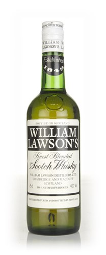 William Lawson's Blended Scotch Whisky - 1970s