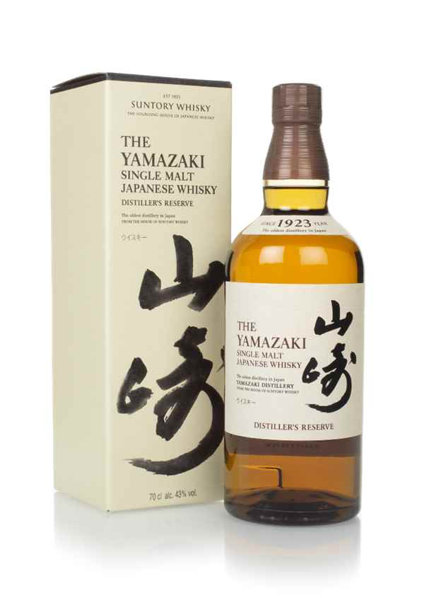 The Yamazaki Single Malt Whisky - Distillers Reserve