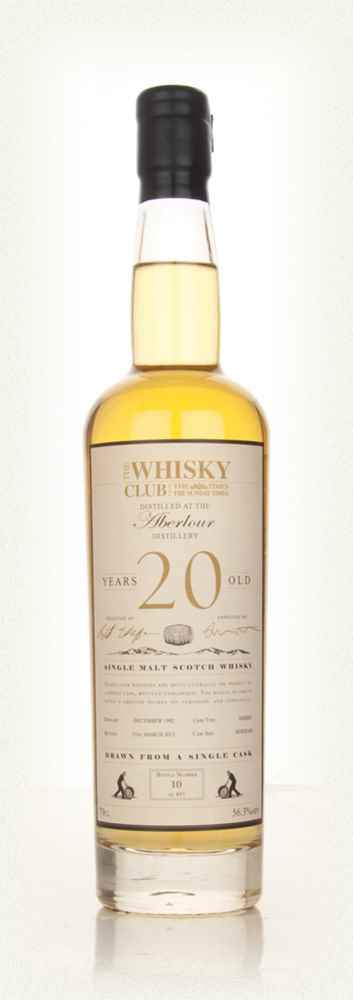 Aberlour 20 Year Old 1992 (The Whisky Club)