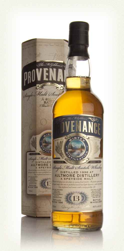 Aultmore 13 Year Old 1996 - Provenance (Douglas Laing)