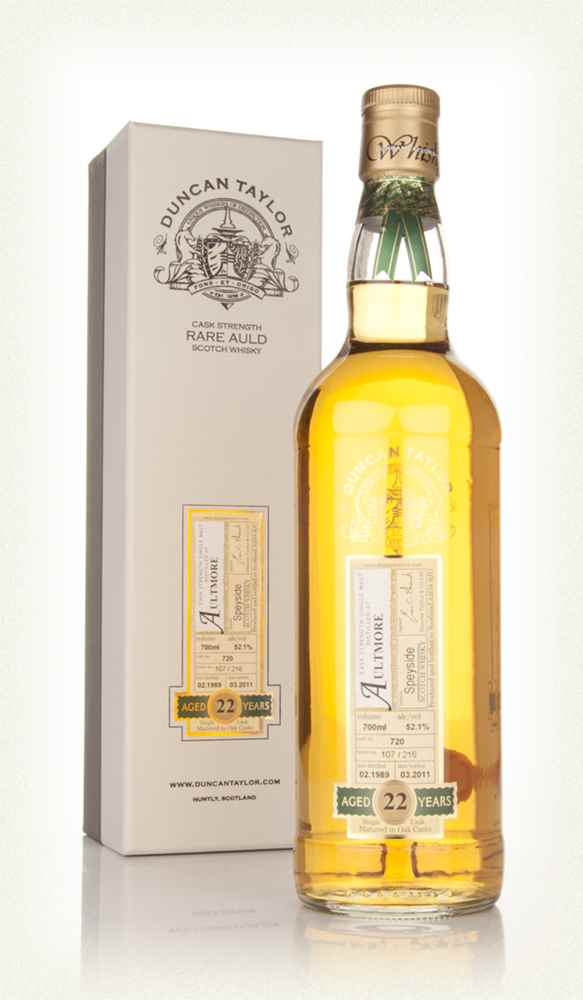 Aultmore 22 Year Old 1989 - Rare Auld (Duncan Taylor)