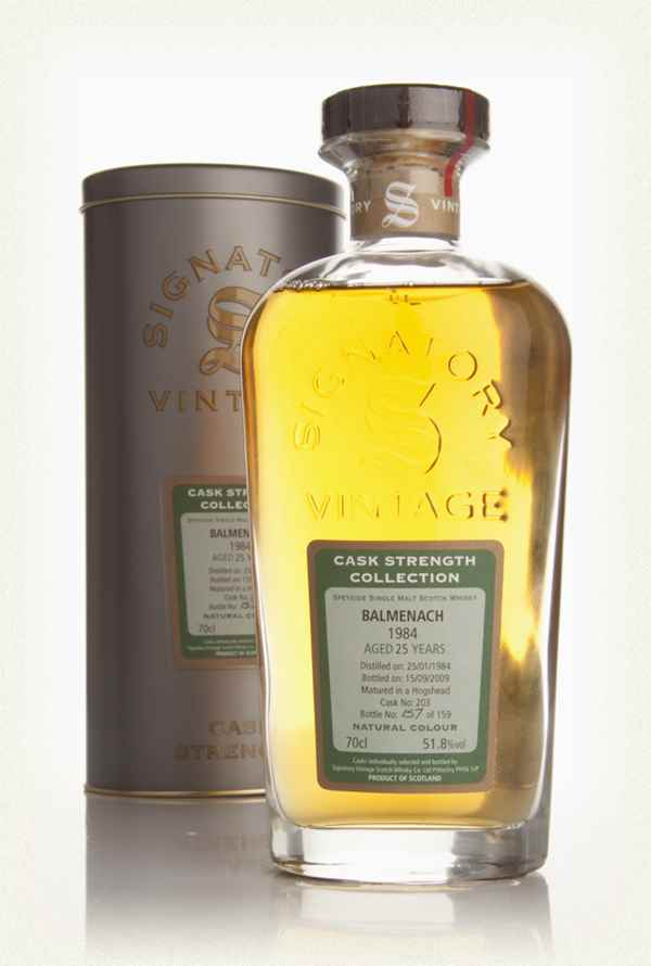 Balmenach 25 Year Old 1984 - Cask Strength Collection (Signatory)