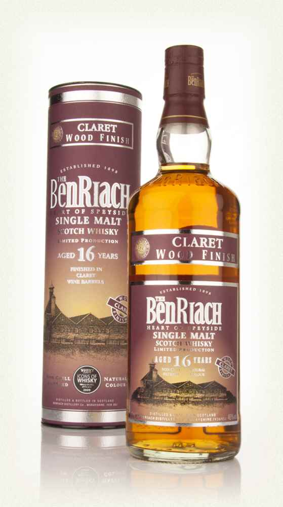 BenRiach 16 Year Old Claret Finish