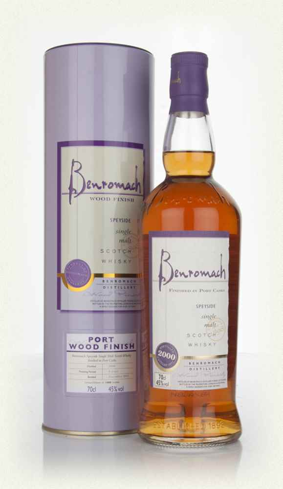 Benromach 2000 Port Wood Finish