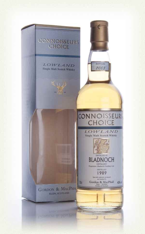 Bladnoch 1989 - Connoisseurs Choice (Gordon and MacPhail)