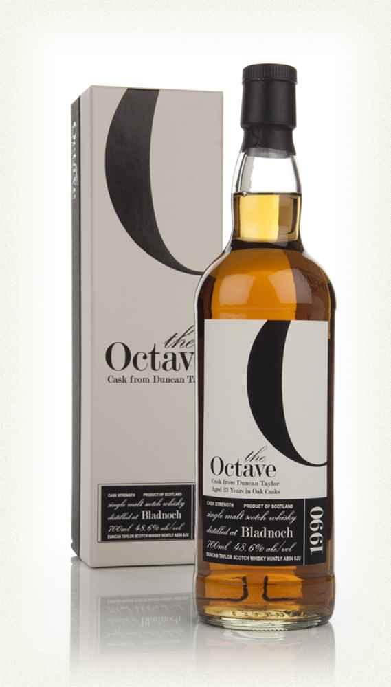 Bladnoch 23 Year Old 1990 - The Octave (Duncan Taylor)