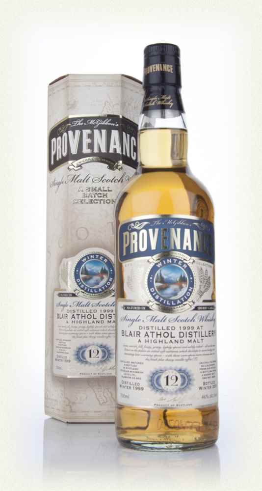Blair Athol 12 Year Old 1999 Sherry (cask 8767) - Provenance (Douglas Laing)