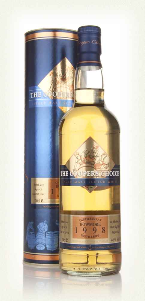 Bowmore 1998 -  - The Coopers Choice (The Vintage Malt Whisky Co.)