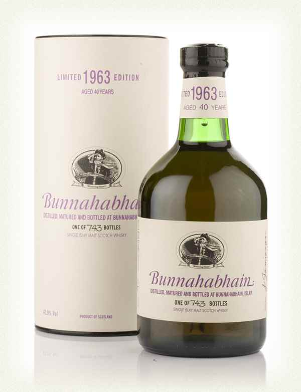 Bunnahabhain 40 Year Old 1963